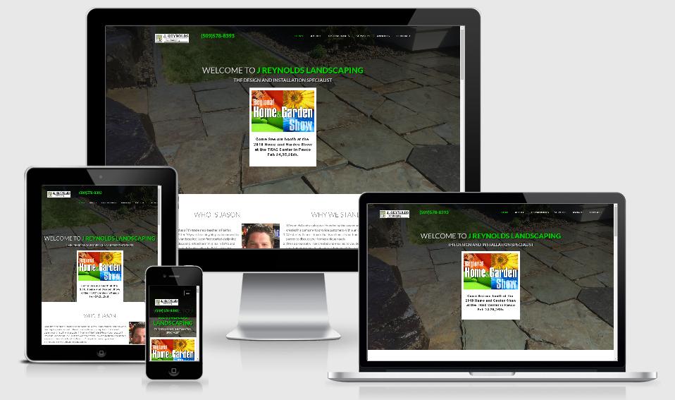 JReynoldsLandscaping - 1 of our portfolio page examples.
