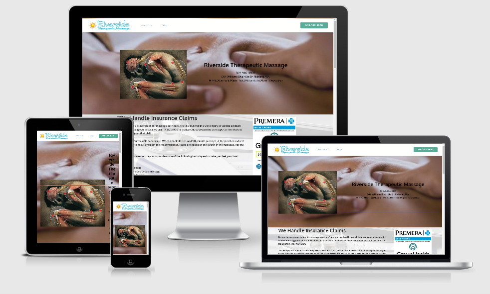 Riverside Therapeutic - 1 of our portfolio page examples.