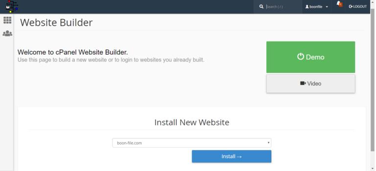 Easy Website Builder 1