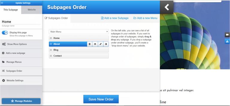 Easy Website Builder 9