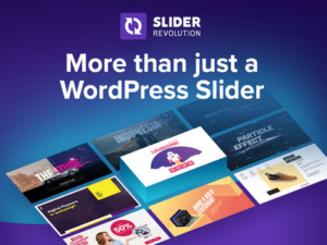 Install WordPress and Slider Revolution