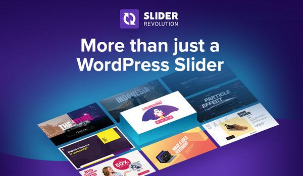 Install WordPress and Slider Revolution